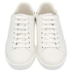 Gucci White Ace Interlocking G Sneakers Size EU 39