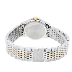 Gucci Mother Of Pearl Two-Tone Stainless Steel Diamond G-Timeless YA126513 Women's Wristwatch 27 mm