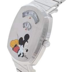 Gucci White Stainless Steel Disney x Gucci Grip YA157419 Unisex Wristwatch 38 mm