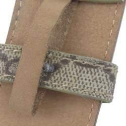 Gucci Brown GG Supreme Canvas  Belt
