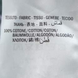 Gucci Black Ignasi Monreal Print Cotton Crew Neck T Shirt XL