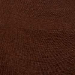 Gucci Brown Cashmere & Silk Cowl Neck Detail Belted Dress L