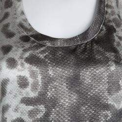Gucci Snakeskin Print Sleeveless  Racerback Tank Top S