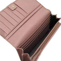 Gucci Pink Leather Continental Wallet