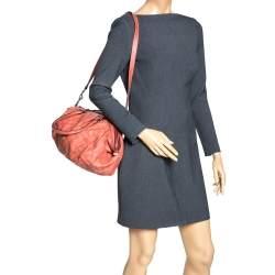 Gucci Orange Guccissima Leather Medium Sukey Bag