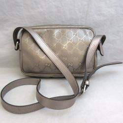 Gucci Brown GG improv PVC Shoulder Bag