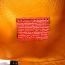 Gucci Beige/Brown GG Supreme Canvas  Ribbon Rainbow Shoulder Bag