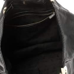 Gucci Black Leather Charlotte Hobo
