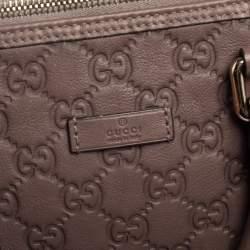 Gucci Brown Guccissima Leather Medium Joy Boston Bag