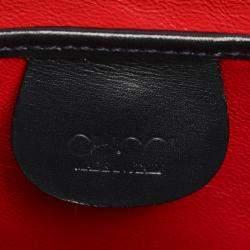 Gucci Black Leather Vintage Kelly Bag