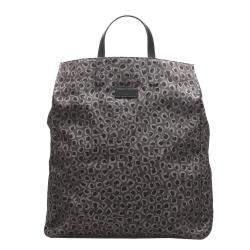 Gucci Brown Leopard Printed Nylon Tote Bag