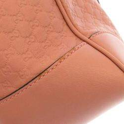 Gucci Pink Microguccissima Leather Bree Bag