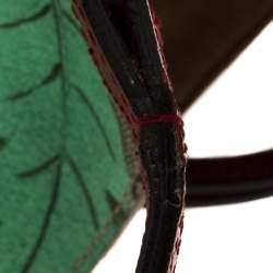 Gucci Multicolor GG Supreme Canvas and Leather Tian Garden Tote
