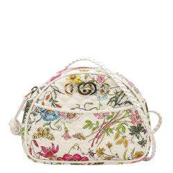 Gucci Multicolor Floral Trapuntata Nylon Crossbody Bag