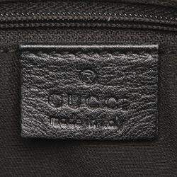 Gucci Black GG Canvas Abbey D-Ring Bag