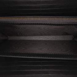 Gucci Black Matelasse Velvet GG Marmont Crossbody Bag