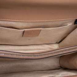 Gucci Tricolor Leather Medium Dionysus Bamboo Top Handle Bag