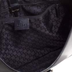 Gucci Black Leather Jackie Hobo