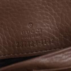 محفظة غوتشي كونتيننتال آبي جلد بني