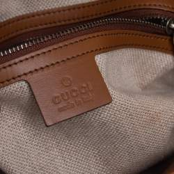 Gucci Ombre Brown Leather Jackie Bucket Bag