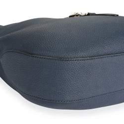 Gucci Blue Leather Soft Jackie Hobo Bag