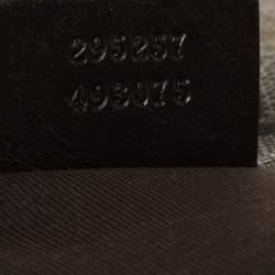 Gucci Beige GG Supreme Canvas Flat Messenger Bag