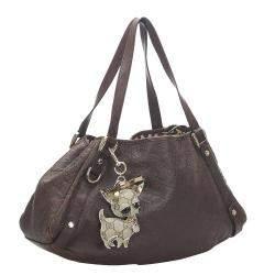 Gucci Brown Guccissima Leather Pelham Hobo Bag