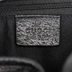 Gucci Black Canvas Fabric Pelham Shoulder Bag