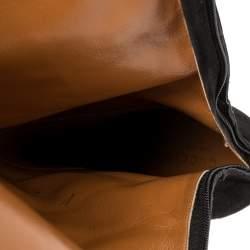 Gucci Black Suede Platform Knee Length Boots Size 37