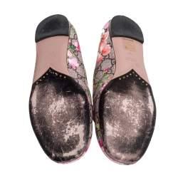 Gucci Multicolor GG Supreme Blooms Ballet Flats Size 37