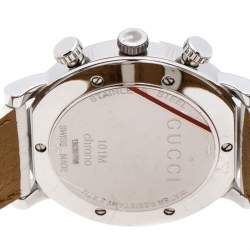 Gucci Mother of Pearl Stainless Steel G-Chrono 101M Women's Wristwatch 44 mm