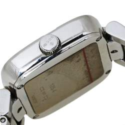 Gucci Brown Stainless Steel G-Gucci 125.4 Women's Wristwatch 32MM