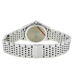 Gucci Brown Stainless Steel G-Timeless YA126503 Women's Wristwatch 27 mm