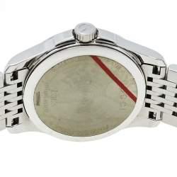 ساعة يد نسائية غوتشي جي-تيمليس واي ايه126503 ستانلس ستيل بني 27 مم