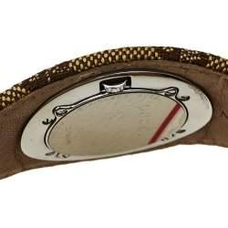 Gucci Silver Stainless Steel G Bandeau 104 Women's Wristwatch 31 mm