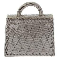 Hermès Palladium Plated Curiosite Kelly Bag Charm