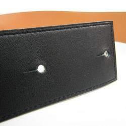 Hermes Black Leather Vintage Collier de Chien Belt