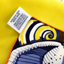 Hermes Multicolor Nap In Paradise Silk Square Scarf