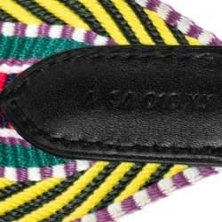 Hermes Multicolor Canvas Sangle Cavele 50 Bag Strap