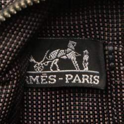 Hermes Grey Canvas Fourre Tout MM Tote Bag