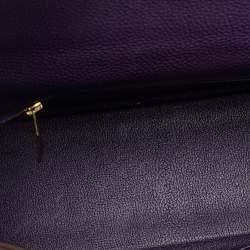 Hermes Iris Togo Leather Kelly Retourne 32 Bag