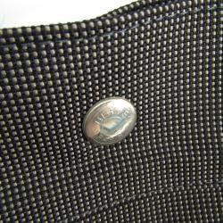 Hermes Grey Canvas Herline GM Tote Bag