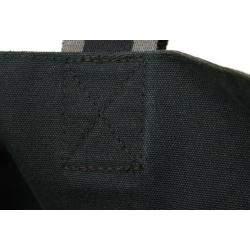 Hermes Grey Canvas Fourre tout Cabas Tote Bag