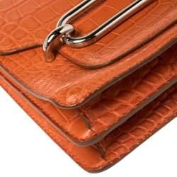 Hermes Pain d' Epice Matte Alligator Roulis 23 Bag