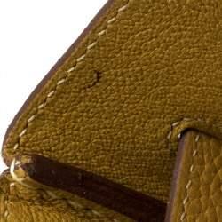 Hermes Curry Clemence Leather Palladium Hardware Birkin 35