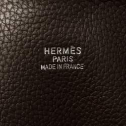 Hermes Brulee Togo Leather Bolide 45 Bag