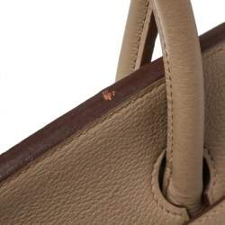 Hermes Cardamome Taurillon Clemence Leather Palladium Hardware Birkin 35 Bag