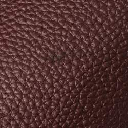 Hermes Bordeaux Togo Leather Wallago Cabine 35 Bag