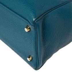 Hermes Cobalt Togo Leather Gold Hardware Kelly Retourne 35 Bag