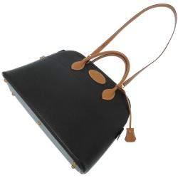 Hermes Black Ardennes Leather Bolide 35 Bag